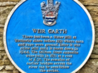Picture of the plaque
