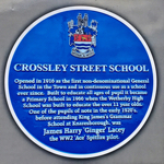 Menu link to Crossley Street School