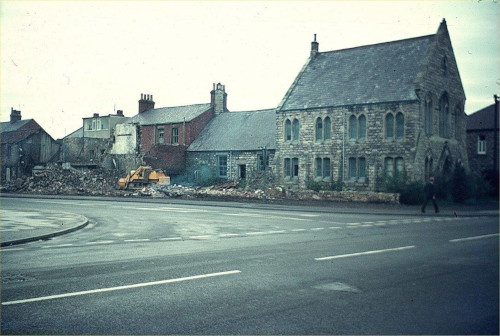 Photo of Primitive Methodist chapel just prior to demolition