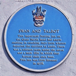 Menu link to Swan and Talbot