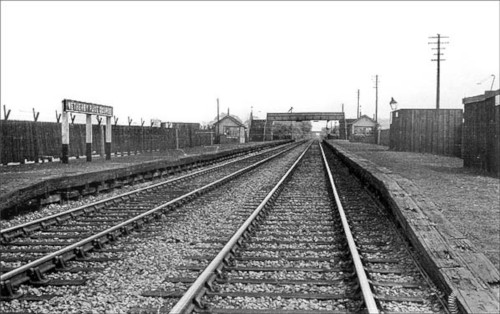 View of the old Racecourse station