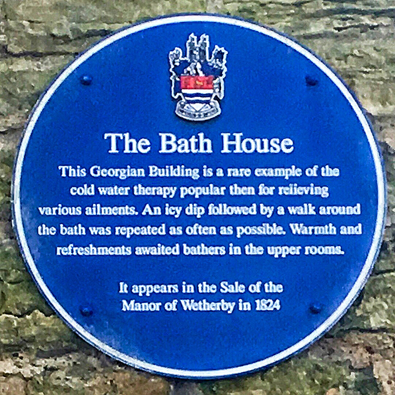 Photo of The Bath House Plaque