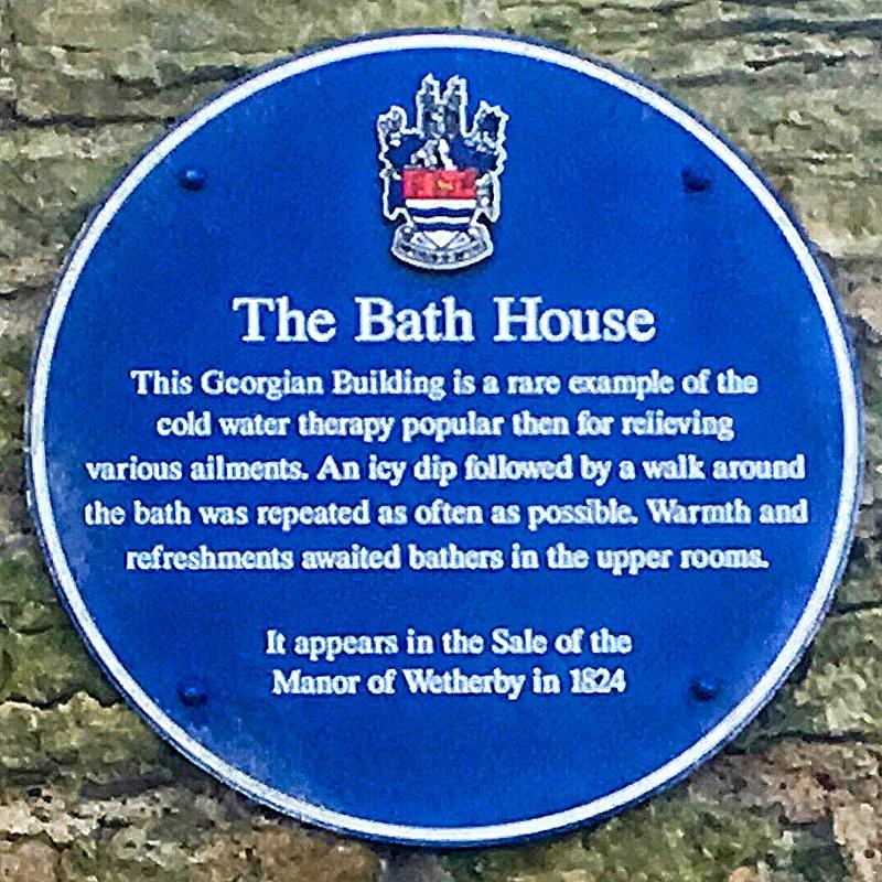 Photo of The Bath House Plaque
