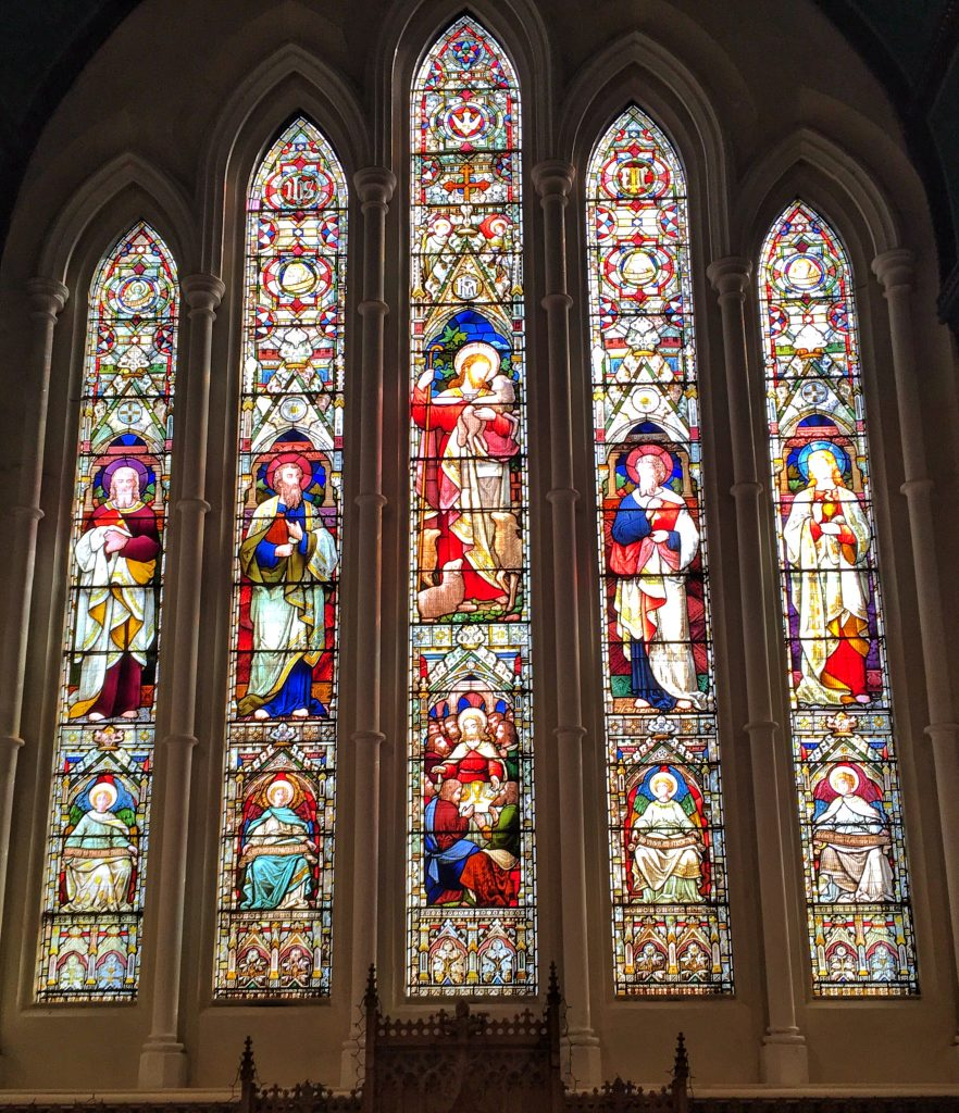 Photo of Stained Glass East window