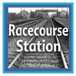 Menu link to the racecourse trainstation