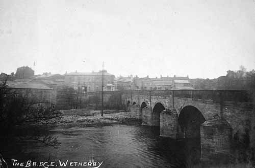Old picture of the bridge