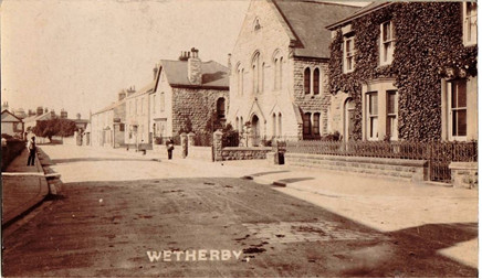 Old Picture of the church looking down North Street
