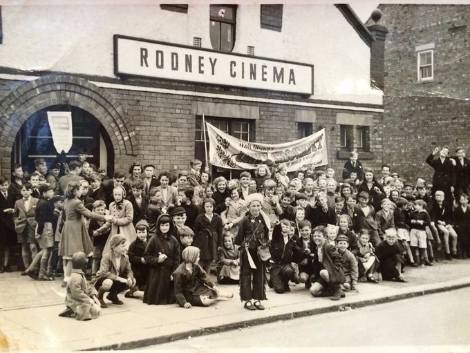 Members of the Star Juniors Saturday afternoon cinema club in the 1950s