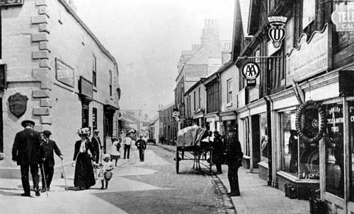 Undated view of north street and the bowling green