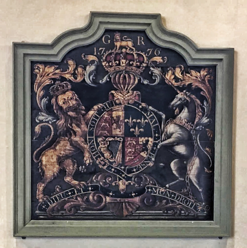 Photo of Royal Coat of Arms