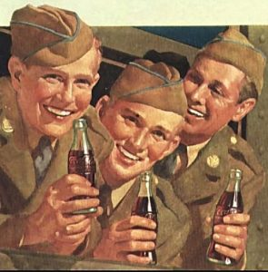 Image of people drinking cola