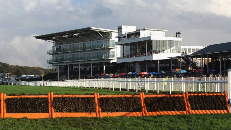 Modern Wetherby Racecourse Grandstand