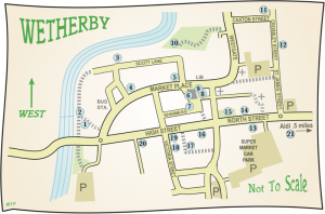 Map of the Blue plaques