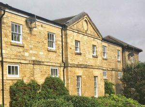 Grade II listed Micklethwaite Farm Frontage