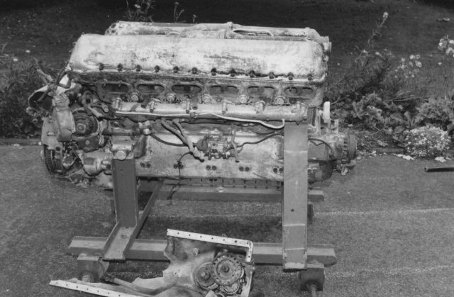 Engine recovered by Nick Roberts, Air Historian