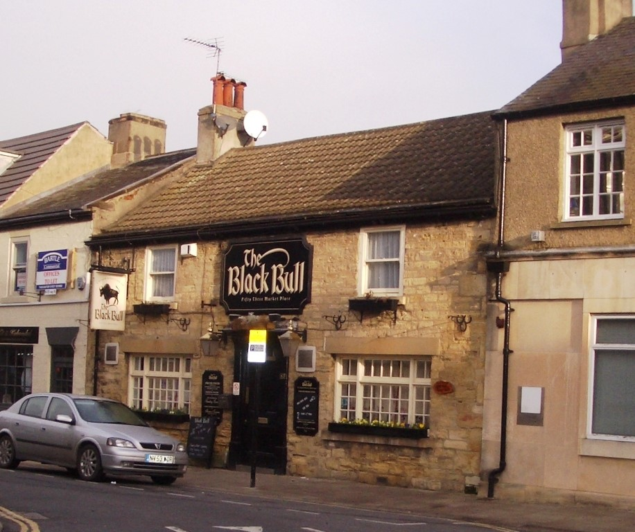 Black Bull in 2011 Copyright:Wetherby Historical Trust