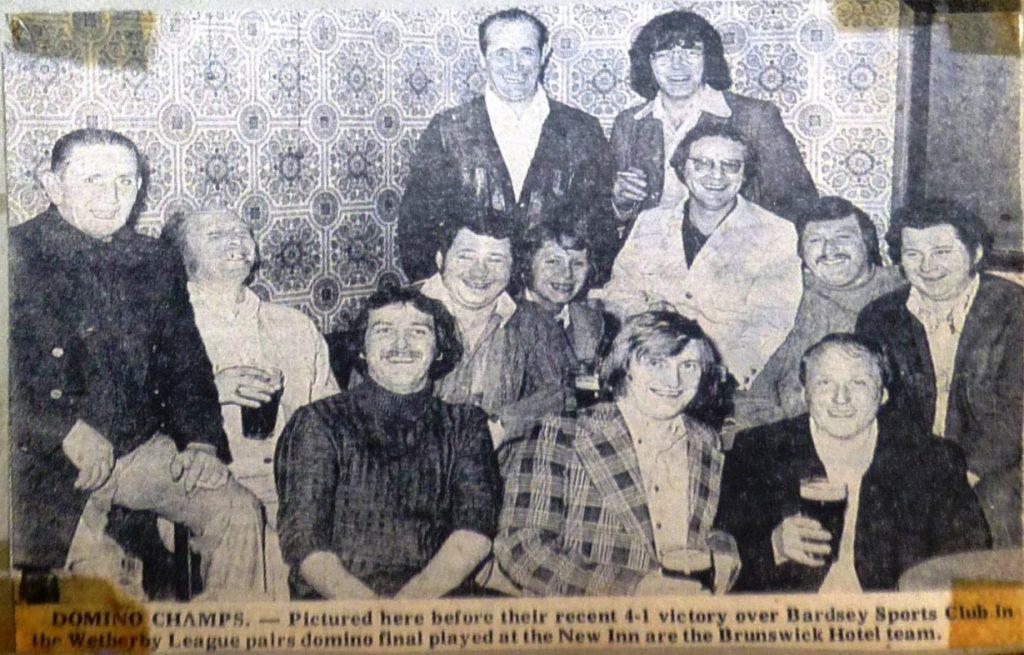 Dominoes Champions 1976