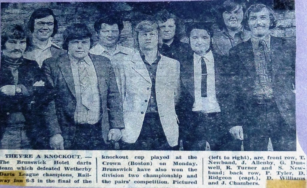 Wetherby News - Knockout Cup Winners 1974