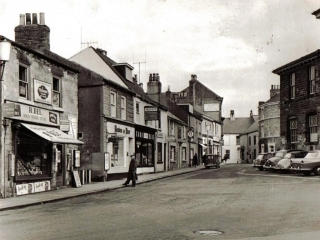 The Black Bull in the Market Place in the 1960's
