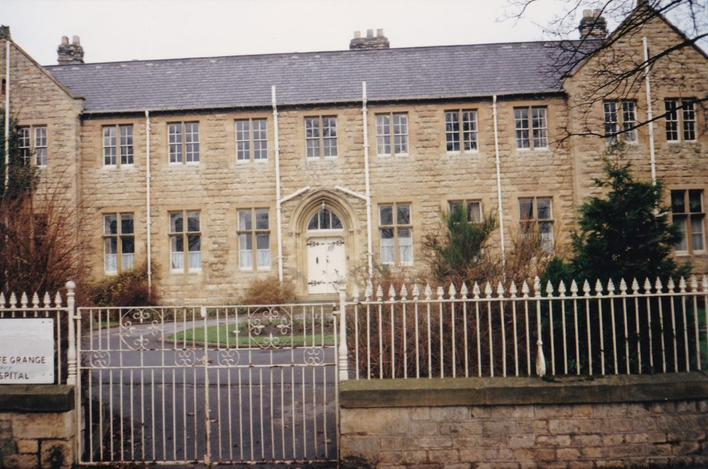 Wharfe Grange Hospital Linton Road Copyright: Wetherby Historical Trust