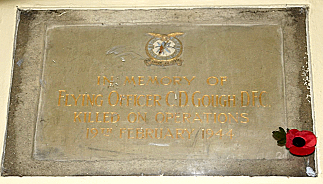 Memorial Plaque (also in Thorner Church)