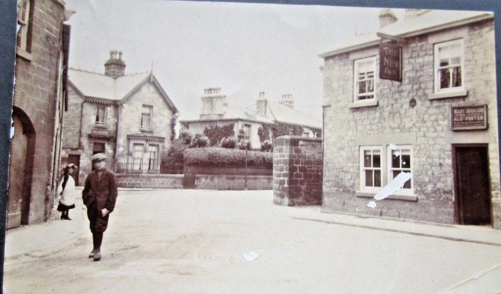 The New Inn 1906 with Ginnel entrance Copyright Wetherby Historical Society