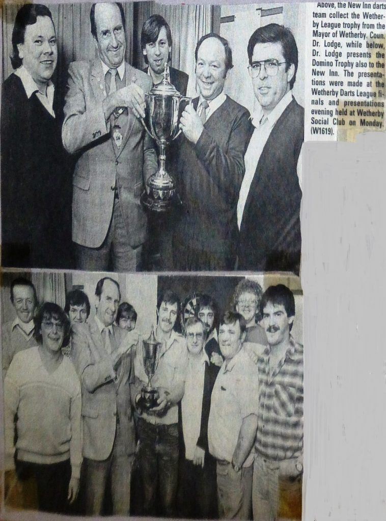 Wetherby League Darts & Domino Winners 1985  Wetherby News